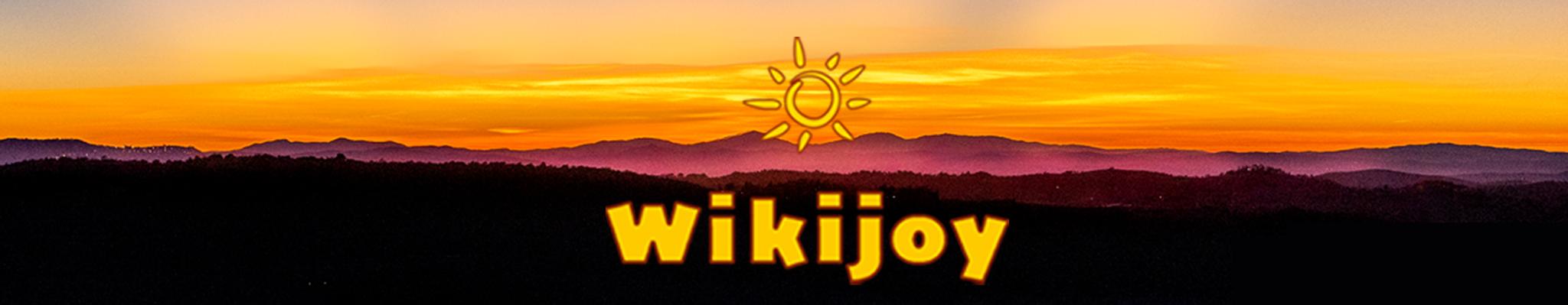 wikijoy sunset banner
